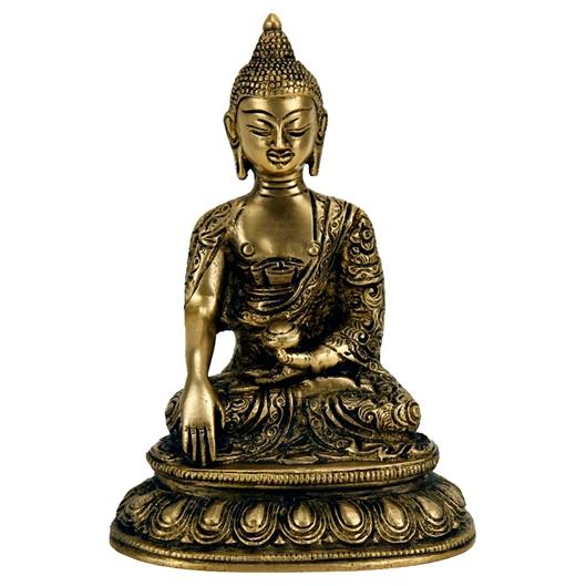 Buddha Shakyamuni Statue Messing