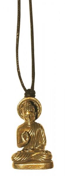 Halskette Buddha Messing 3cm