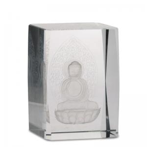 Kristall laser Buddha