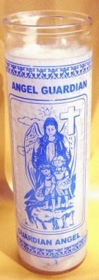 7 Tage Glaskerze - Guardian Angel