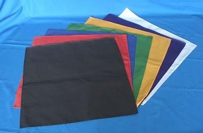 Altartücher ohne Aufdruck schwarz 45x45cm 1 Tuch