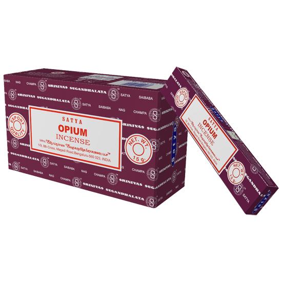 Räucherstäbchen Satya Opium 15g 1 Packung