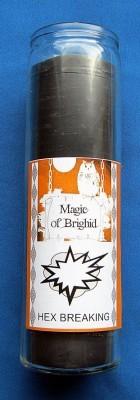 Magic of Brighid Glaskerze Hex Breaking (Zauber lösen)