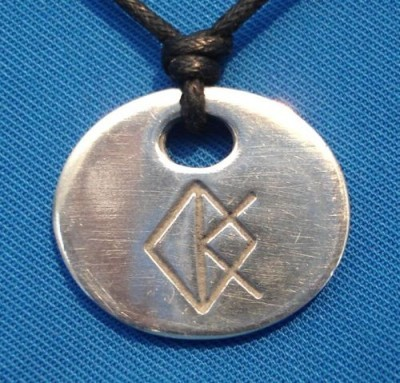 Binderunen Amulett Kreativität
