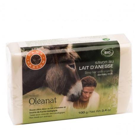 Duftlose Seife mit hypoallergener Eselsmilch 100 g BIO