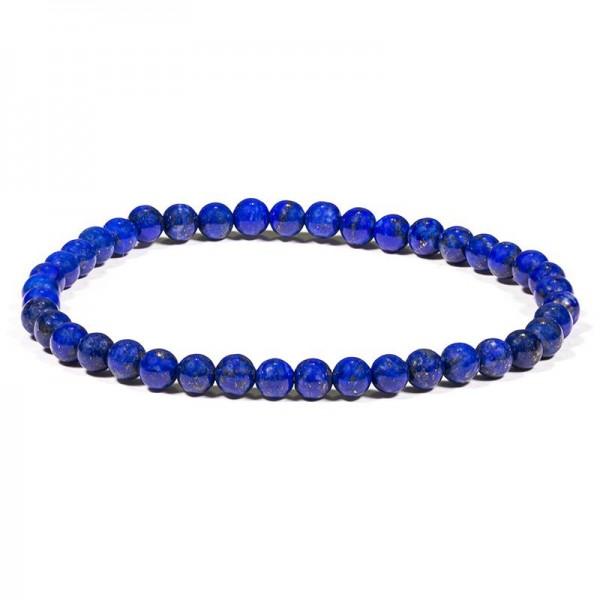 Armband Lapislazuli-Perlen