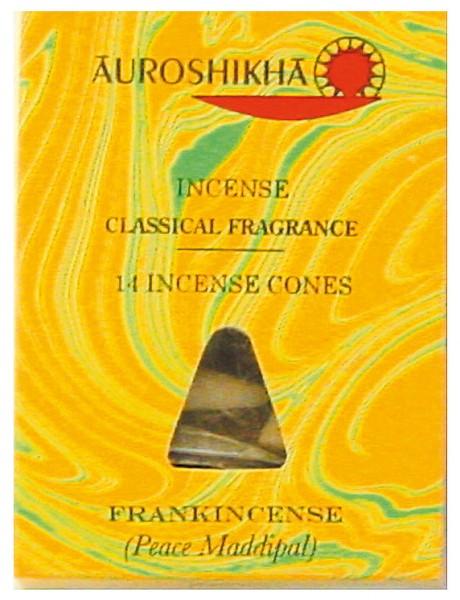 Auroshikha Räucherkegel Frankincense 20g