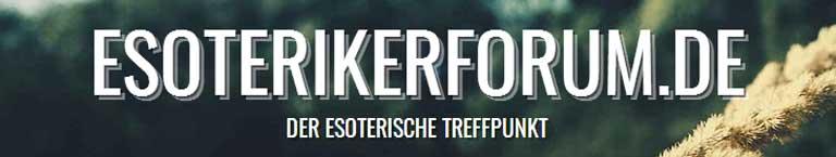 Esoterikerforum - Der Treffpunk für Esoterik im Internet